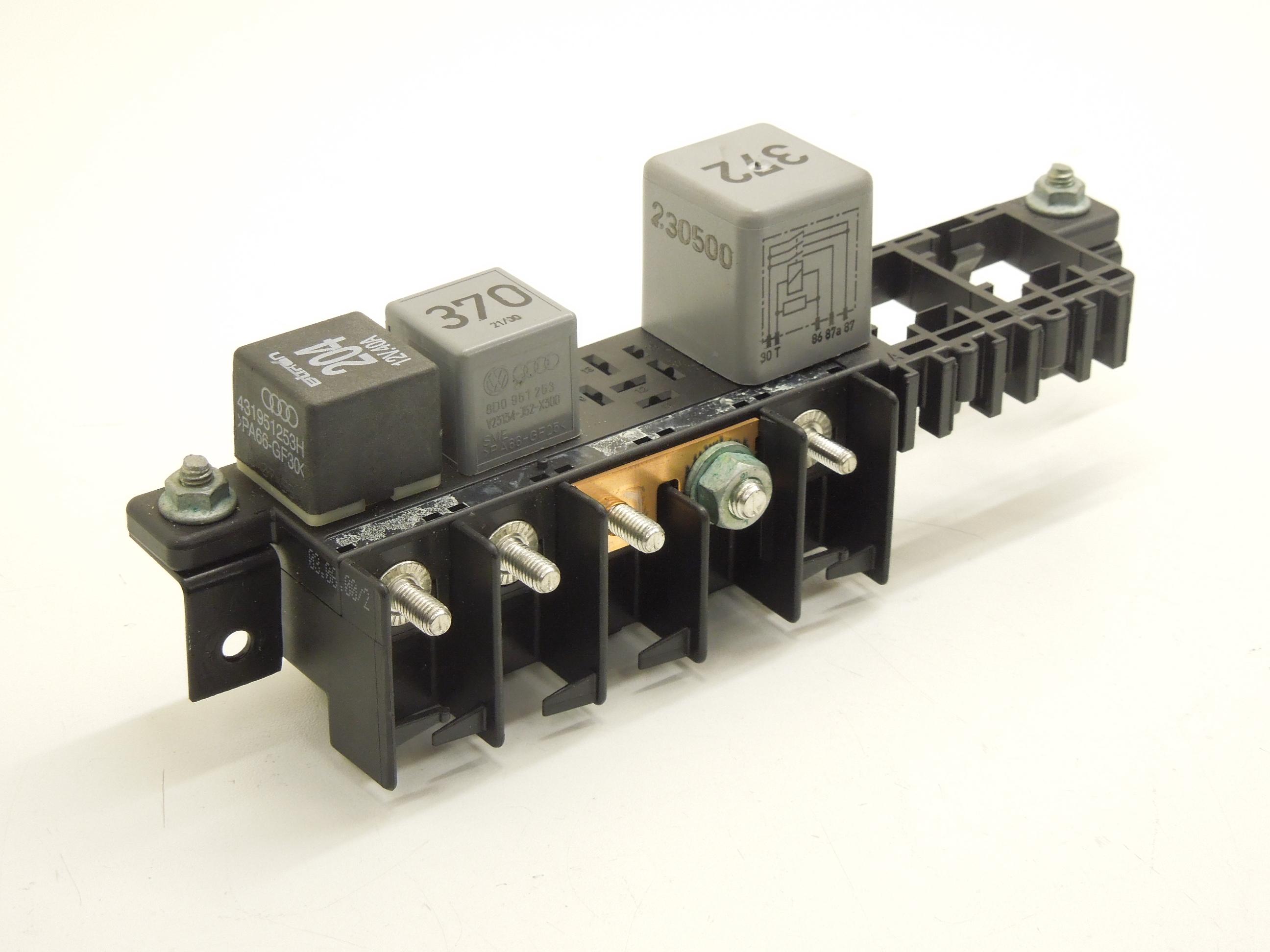 Audi A8 D2 Fl Lower Relay Distribution Panel Rail 8l0941822a Ebay Electrical Image Is Loading