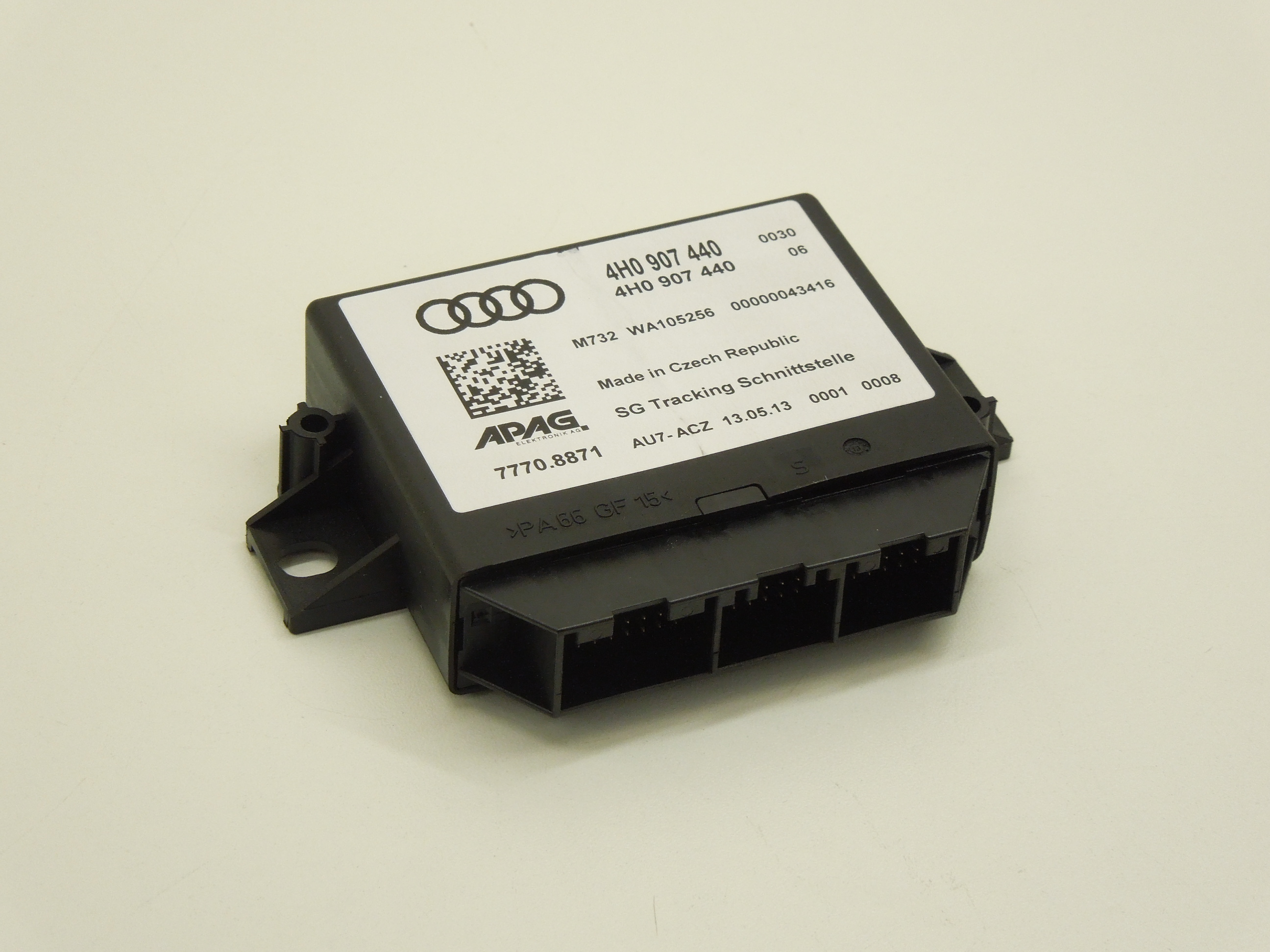 Audi A6 C7 A7 A8 D4 Vehicle Location Ecu Interface 4h0907440 Ebay 2013 Fuse Box Image Is Loading