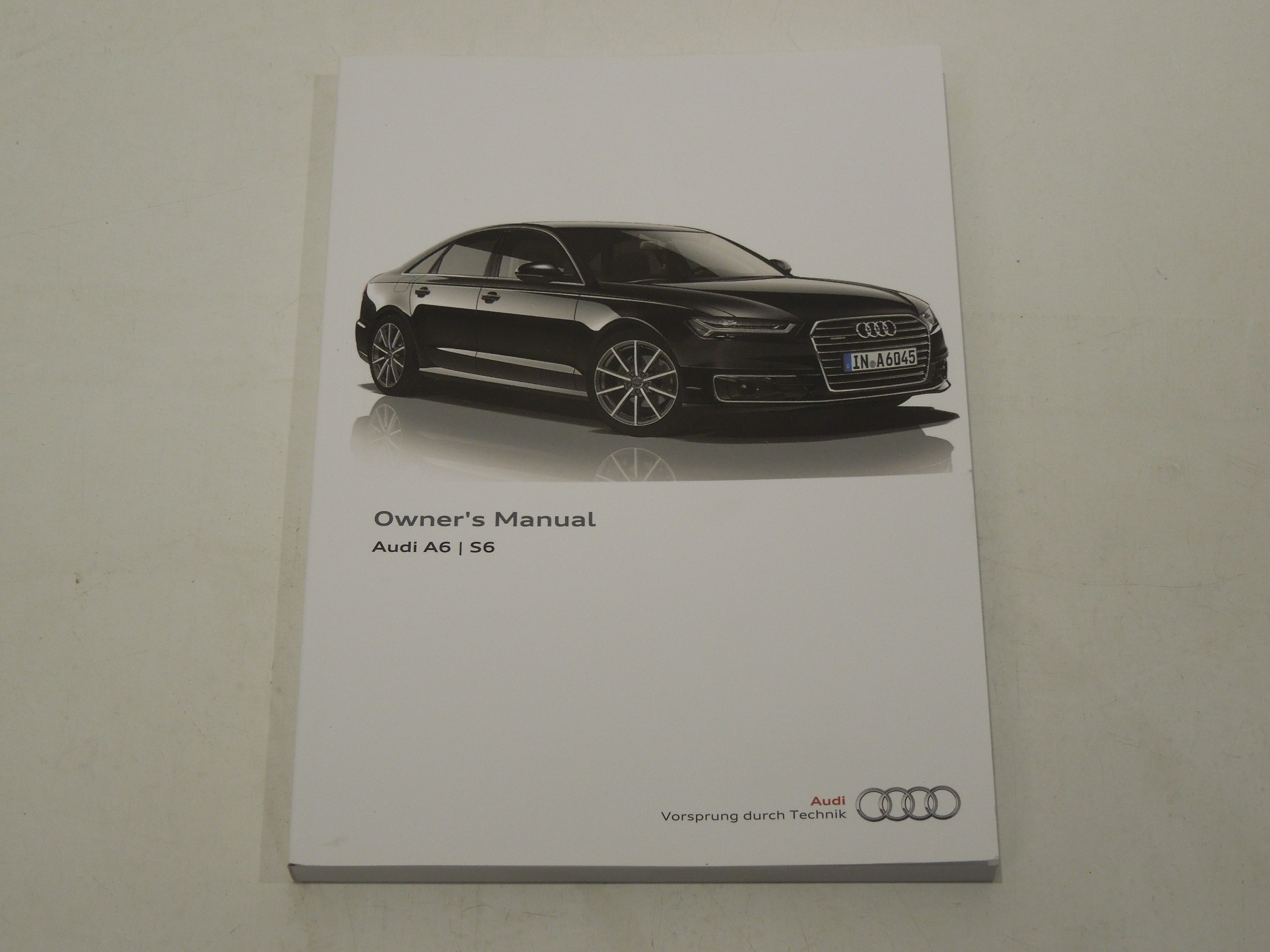 Image is loading Audi-A6-C7-Handbook-Owners-Manual-05-2015-