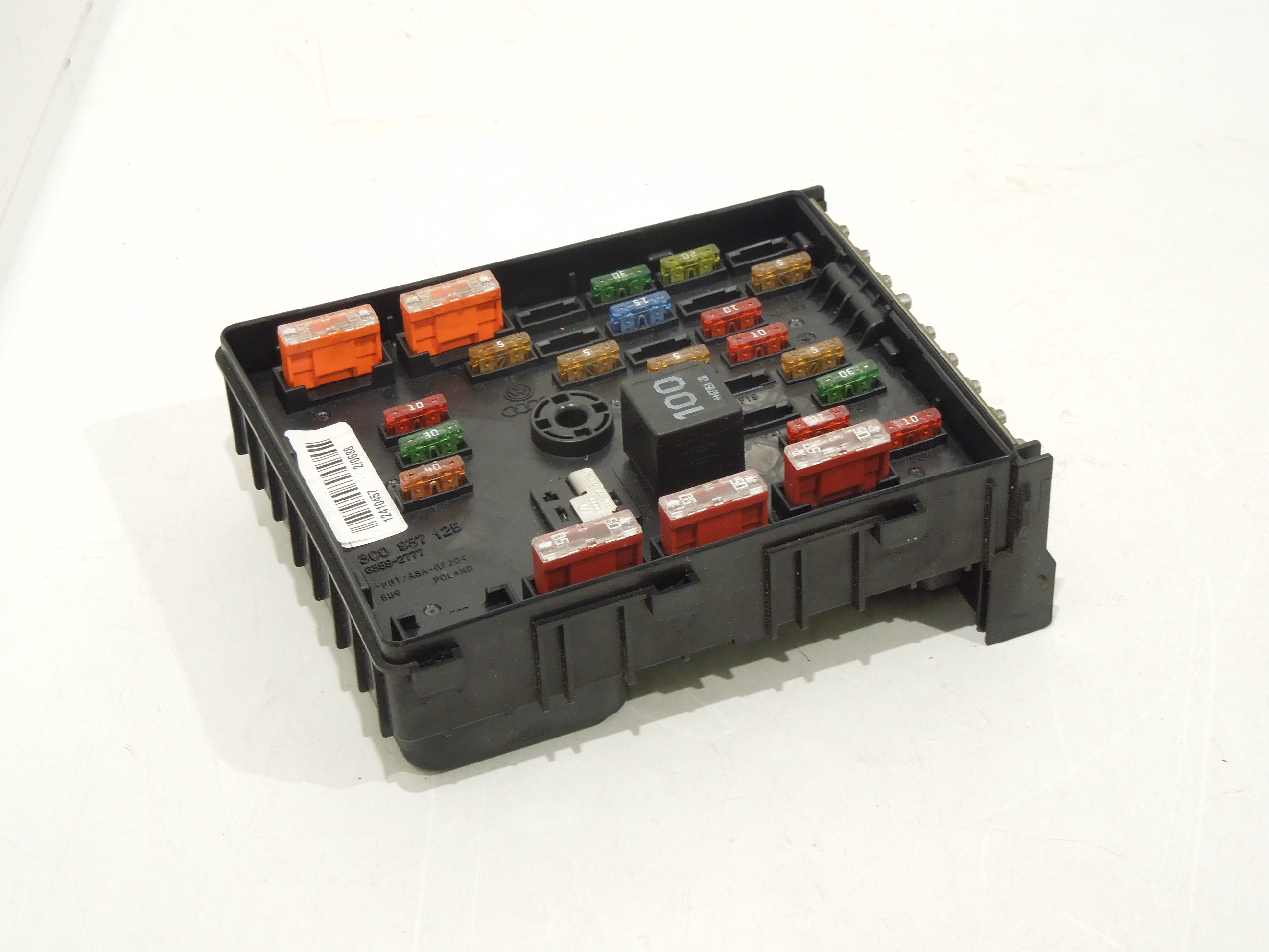vw passat b6 main relay fuse power distribution box 3c0937125 ebay Car Glove Box image is loading vw passat b6 main relay fuse power distribution